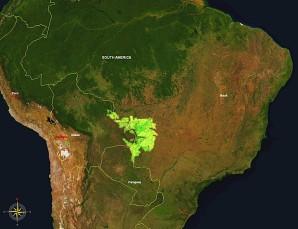 KARTE Hochland des Mato Grosso