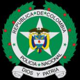 Wappen der Nationalpolizei von Kolumbien