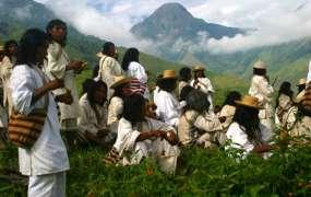 Gruppe von Arhuacos